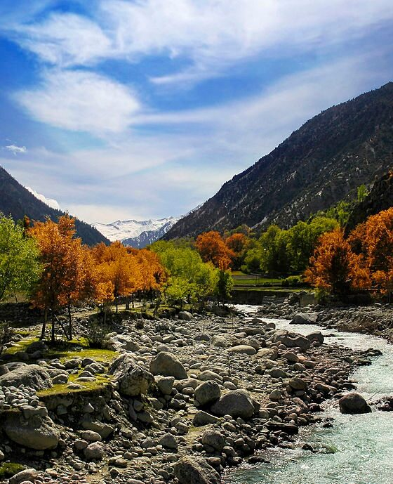 Chitral kalash valley