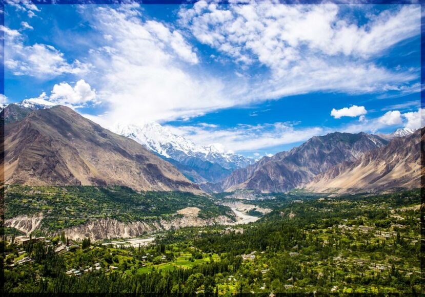 Best Traveling destinations Hunza Valley